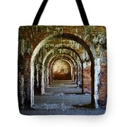 Fort Morgan Arches Tote Bag