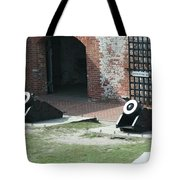 Fort Morgan Mortars Tote Bag
