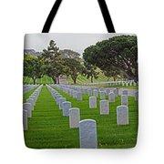 Fort Rosencrans National Cemetery Tote Bag