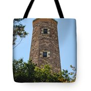 Fort Story Light House Tote Bag