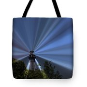 Fort Story Lighthouse Tote Bag