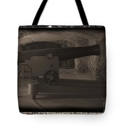Fort Sumpter Cannon Tote Bag