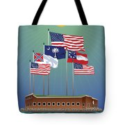 Fort Sumter, Charleston, Sc Tote Bag