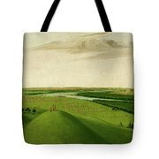 Fort Union, Mouth Of The Yellowstone River, 2000 Miles Above St. Tote Bag