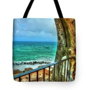 Fort Window View Tote Bag