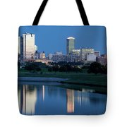 Fort Worth Blue 062217 Tote Bag