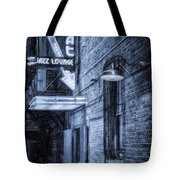 Fort Worth Impressions Scat Lounge Bw Tote Bag