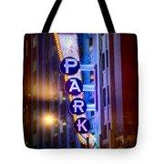 Fort Worth Park Sq Tote Bag