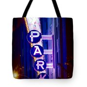 Fort Worth Parking Tote Bag