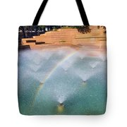 Fort Worth Water Gardens - Aerated Pool Tote Bag