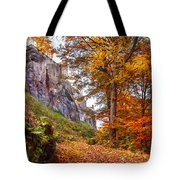 Fortification Koenigstein In Autumn Time Tote Bag