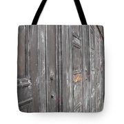 Fortress Doors Tote Bag
