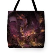 Fortress Of The Mind - Fractal Art Tote Bag
