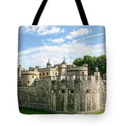 Fortress Of The Tower Of London Tote Bag