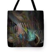 Fortune Willing - Fractal Art Tote Bag