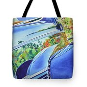 Forty Ford In Fall Tote Bag