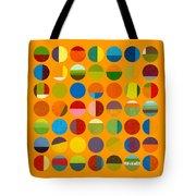Forty Nine Circles Tote Bag