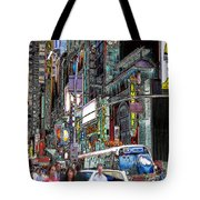 Forty Second And Eighth Ave N Y C Tote Bag