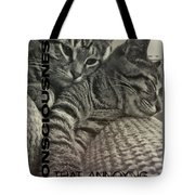 Forty Winks Quote Tote Bag by JAMART Photography