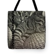 Forty Winks Quote Tote Bag