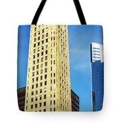Foshay Tower From The Street Tote Bag