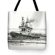 Foss Tugboat Sea Duke Tote Bag