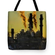 Fossil Fuels Tote Bag