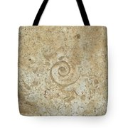 Fossils In The Cave Tote Bag