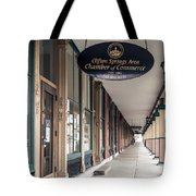 Foster Building In Clifton Springs Tote Bag