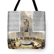 Foucaults Pendulum Tote Bag
