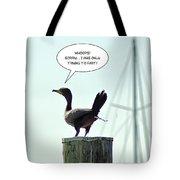 Foul Fowl Tote Bag