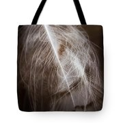 Found Feather Tote Bag