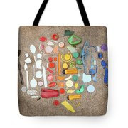 Found Items Rainbow Tote Bag
