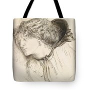 Found - Study For The Head Of The Girl Tote Bag
