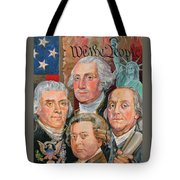 Founding Fathers Of America Tote Bag