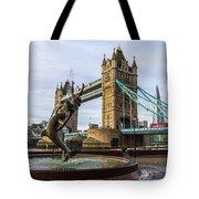 Fountain And Bridge Tote Bag