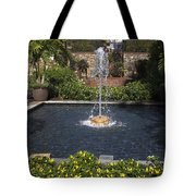 Fountain And Peppers Tote Bag