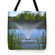 Fountain Art Tote Bag