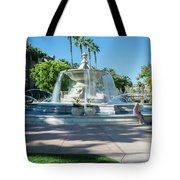 Fountain At Rio Vista Tote Bag