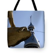 Fountain At Ut Tote Bag