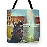 Fountain At Versailles Tote Bag