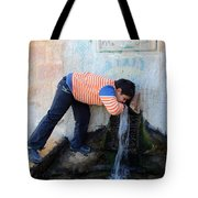 Fountain Built In 1950 Tote Bag