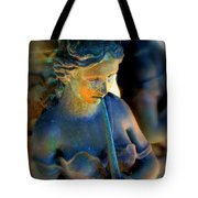 Fountain Girl Tote Bag