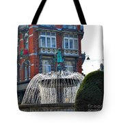 Fountain Of Brussels Tote Bag