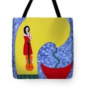 Fountain Of Creativity Tote Bag