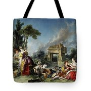 Fountain Of Love Tote Bag