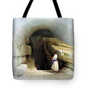 Fountain Of Siloam Valley Of Jehosophat 1842 Tote Bag