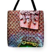 Fountain On The Plaza Tote Bag