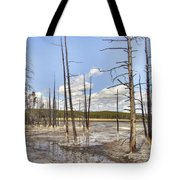 Fountain Paint Pots Lodgepole Pines - Yellowstone Tote Bag