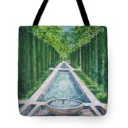 Fountain  Palma De Mallorca Capital  Tote Bag